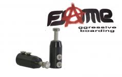 Radaufnahme für Dirtpipe 8mm (Skatewheels)